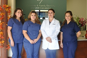 The Cosmetic & Family Dentistry team